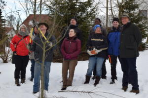 Obstschnittkurs Inning am Holz 09. Februar 2019